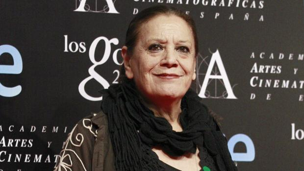 La actriz Terele Pávez