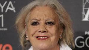 Fotografía de archivo, tomada en enero de 2017 de la actriz Terele Pávez