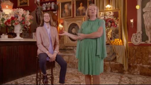 Pepe (izquierda) y Joaquina (derecha)