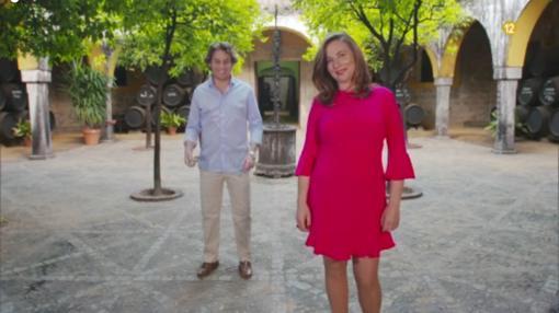 Fernando (izquierda) y Silvia (derecha)
