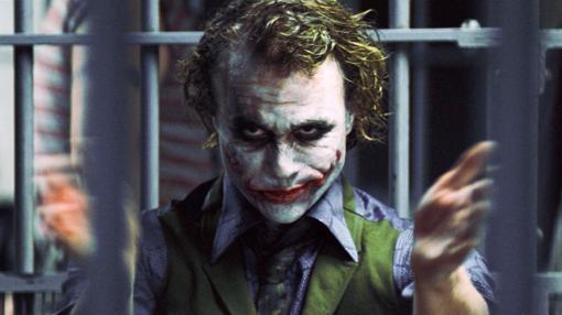 Heath Ledger en «El caballero oscuro»