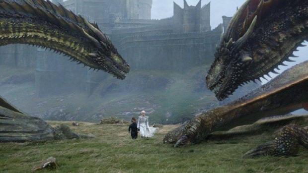 Juego de tronos: ¿Qué ocurrirá con Viserion, uno de los dragones de ...