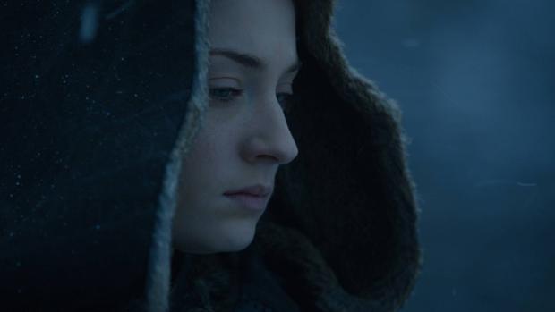 Sansa Stark en el último capítulo de la séptima temporada de «Juego de tronos»