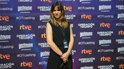 Noemí Galera en el casting de Barcelona