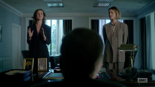 Kerry Bishé (izquierda) y Mackenzie Davis (derecha) en «Halt and Catch Fire»