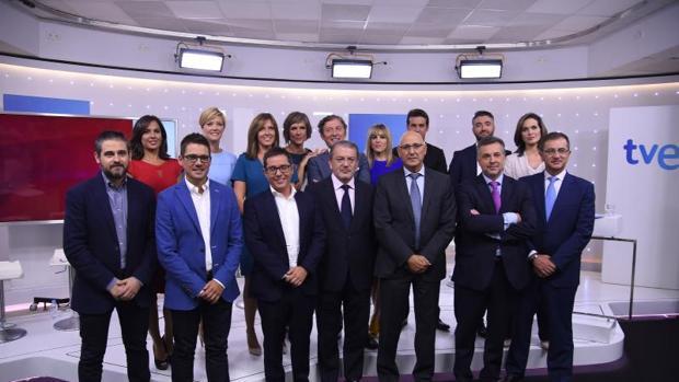 La nueva temporada de TVE presenta una alineación con pocas novedades