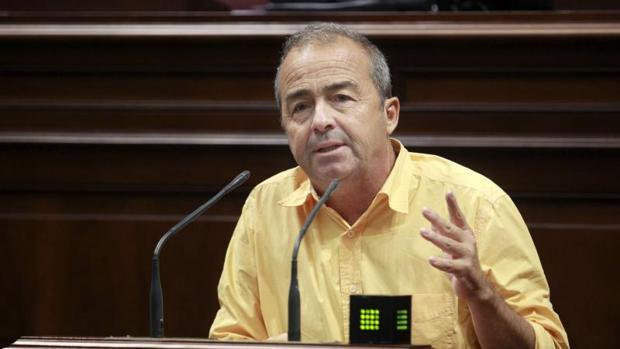Francisco Déniz, diputado de Podemos en el Parlamento de Canarias