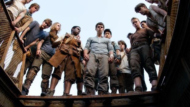 Escena de la película «El corredor del laberinto»