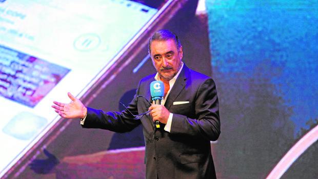 Carlos Herrera durante la presentación de la nueva temporada de Cope