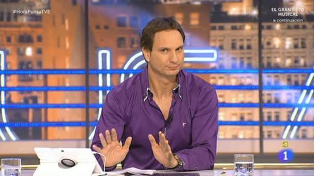 Javier Cárdenas, presentador de «Hora Punta»
