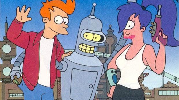 Fry, Bender y Leela «Futurama»