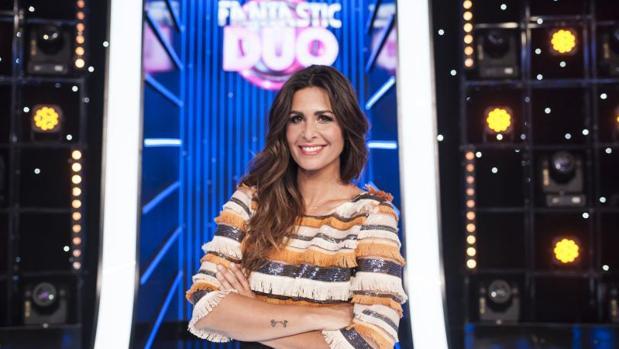Nuria Roca, presentadora de «A toda pantalla»