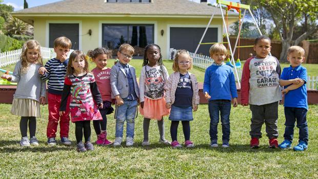 Los pequeños protagonistas de «La vida secreta de los niños»
