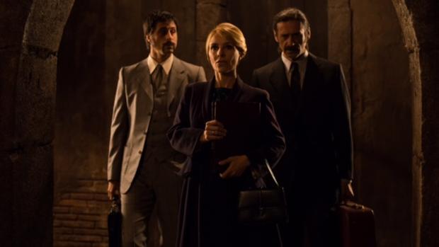Fotograma de la tercera temporada de «El Ministerio del Tiempo»