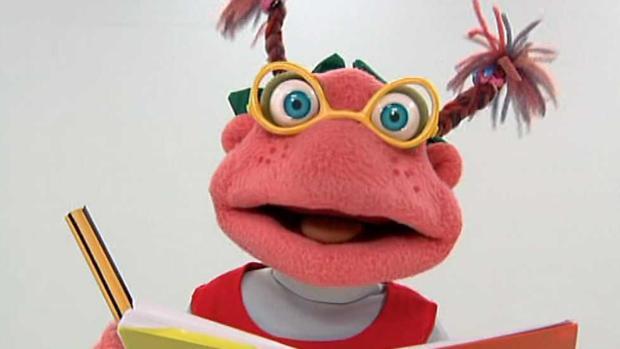 Lupita es uno de los personajes principales de la serie de animación de TVE «Los Lunnis»