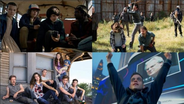 «Stranger Things», «The Walking Dead», «Shameless» y «Mr. Robot» son algunos de los estrenos más esperados