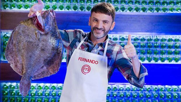 Fernando Tejero fue finalista de la primera edición de «MasterChef Celebrity»