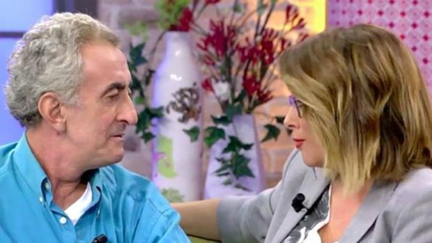 Toñi Moreno y Chapis, durante la controvertida entrevista