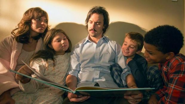 La familia Pearson, protagonistas de «This is us»