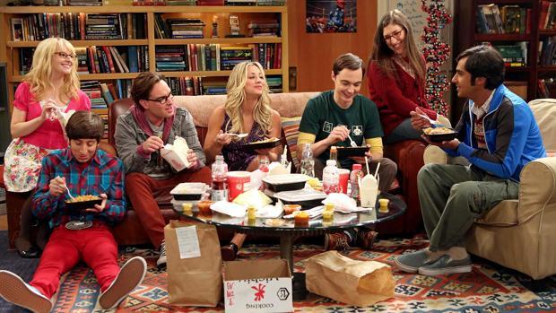 Los protagonistas de «The Big Bang Theory»