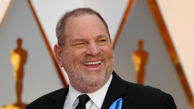 Harvey Weinstein, en la última entrega de los premios Oscar de Hollywood