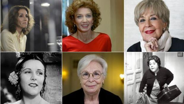 Las mujeres que han recibido el Goya de Honor