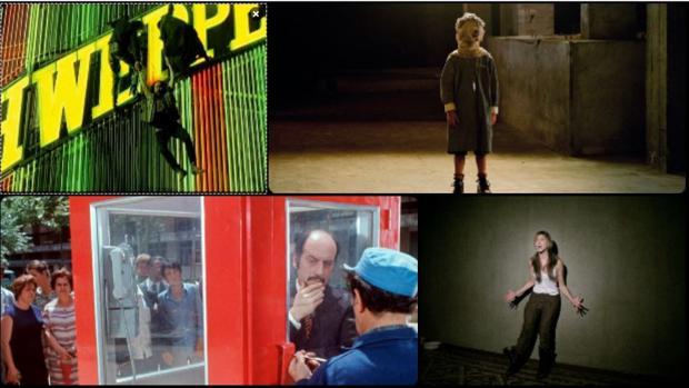 Fotogramas de «El día de la Bestia», «El orfanato», «La cabina» y «[REC]»