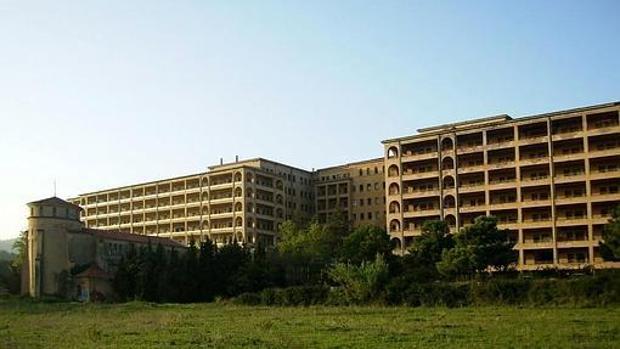 Exteriores del Hospital de Terrasa
