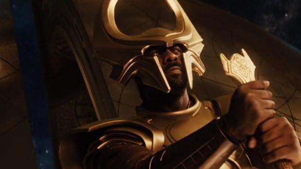Idris Elba interpreta a Hemdall en «Thor: Ragnarok»