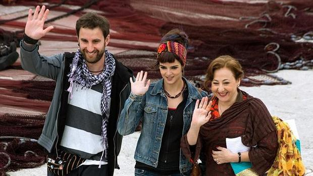 Dani Rovira, Clara Lago y Carmen Machi en «Ocho apellidos vascos»
