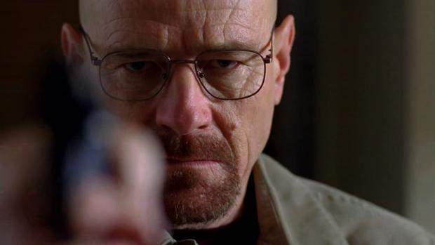 Bryan Cranston en el papel de Walter Whiter en «Breaking Bad»