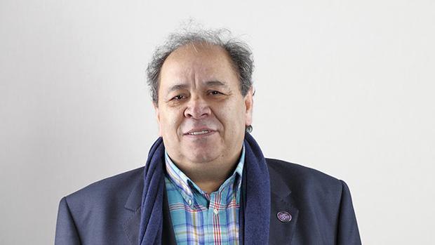 El montador José Salcedo