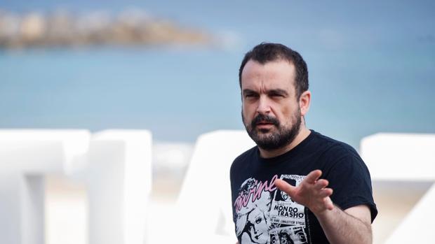 Nacho Vigalondo, en el Festival de San Sebastián de 2016