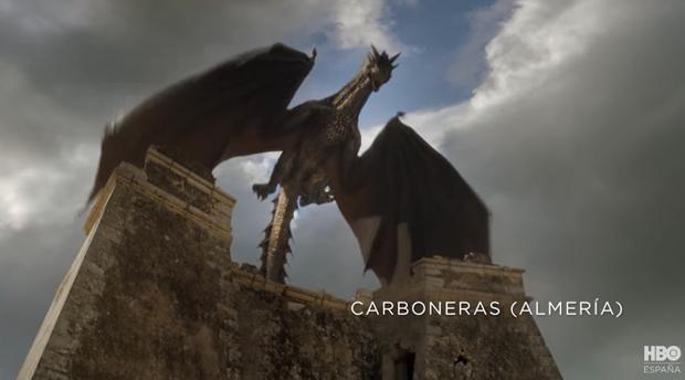 Una escena de «Juego de tronos» rodada en Carboneras (Almería)