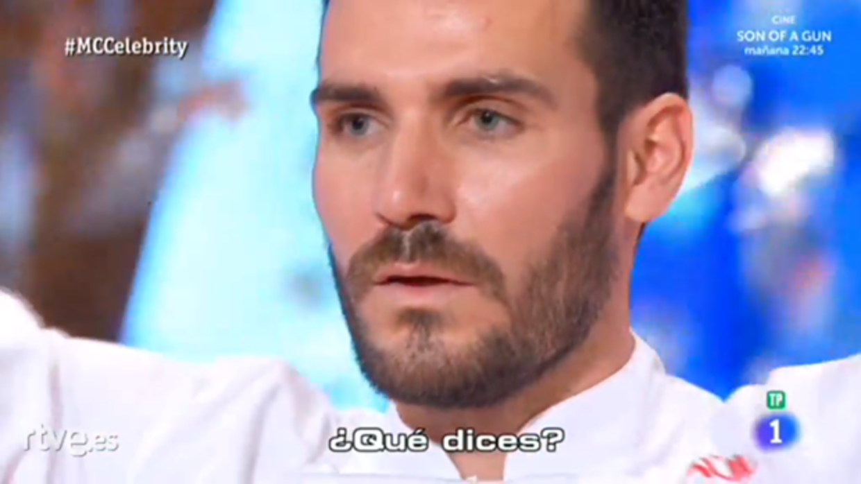 Saúl Craviotto, ganador de «MasterChef Celebrity»