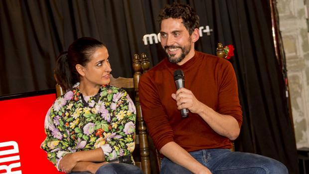 Paco León, creador de Arde Madrid, e Inma Cuesta, protagonista