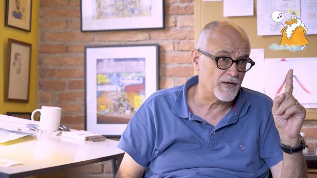 José Luis Martín Zabala fue uno de los fundadores de la revista humorística El Jueves