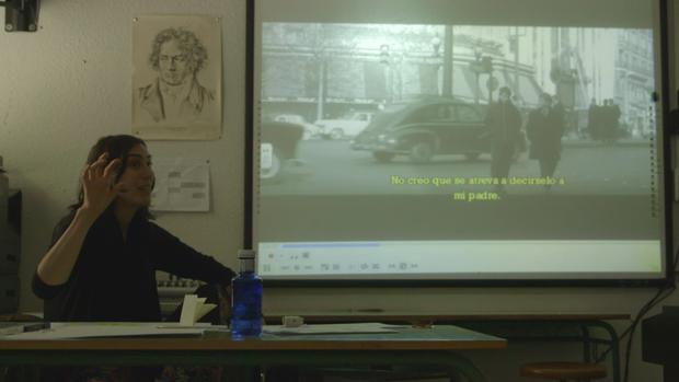 Una de las experiencias llevadas a cabo por Aulafilm en un colegio madrileño