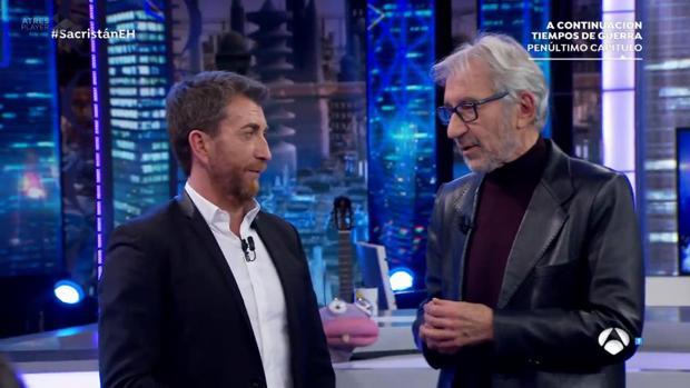 José Sacristán, en «El Hormiguero»