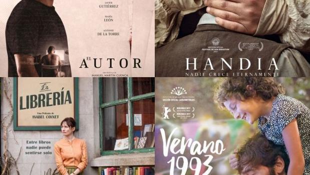 «El autor», «Handia», «La librería» y «Verano 1993» son las favoritas para los Goya 2018