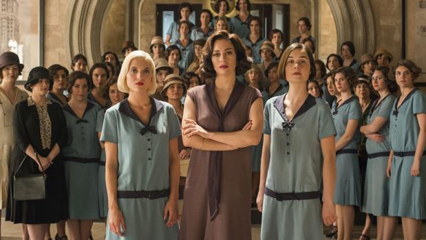Ana Fernández, Blanca Suárez, Nadia de Santiago, tres de las «cable girls», como se las conoce en el mundo
