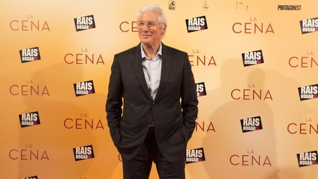 Richard Gere, en Madrid, tras presentar «La cena»