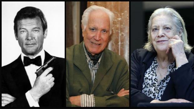 Roger Moore, Federico Luppi y Terele Pávez, algunos de los actores que fallecieron en 2017