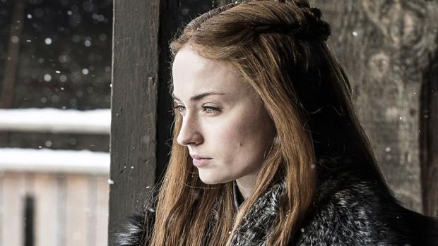 Sansa Stark (Sophie Turner), en «Juego de Tronos»