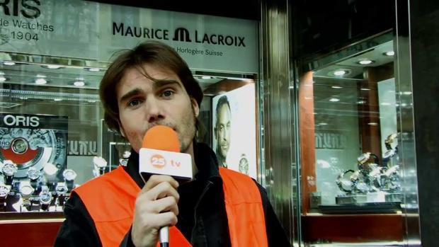 Carlos Navarro, en el programa «No te cortes»