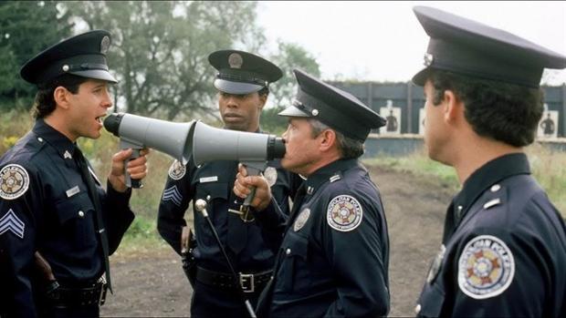 Escena de «Loca Academia de Policía»
