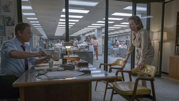 Meryl Streep y Tom Hanks protagonizan el nuevo filme de Spielberg