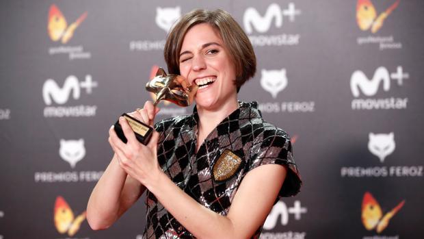Carla Simón, tras la entrega de premios