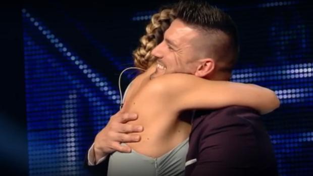 Edurne y Guille Barea se reencontraron en «Got Talent»