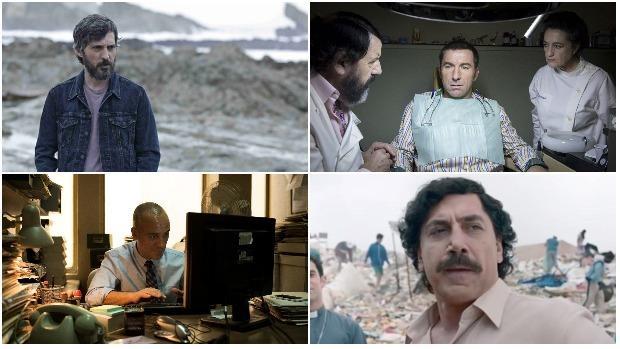 Andrés Gertrúdix, Javier Bardem, Antonio de la Torre y Javier Gutiérrez, candidatos al Goya por mejor actor protagonista